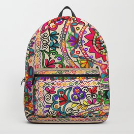 Elegant Flower Backpack