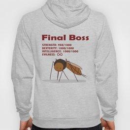 Final Boss - Red Letters Hoody