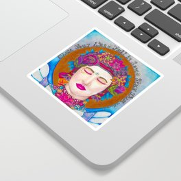 Close Your Eyes,Fall in Love, Stay There Sticker