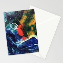 Mini World Environmental Blues 3 Stationery Cards