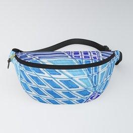 Blue Windows Fanny Pack