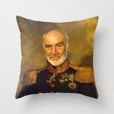 Sir Sean Connery - replaceface Throw Pillow