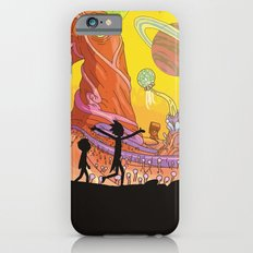 Rick and Morty - Silhouette Slim Case iPhone 6s