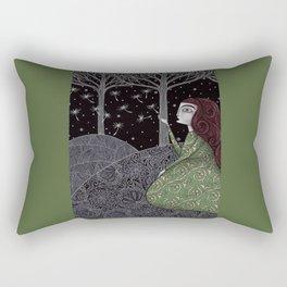 My Winter Stars Rectangular Pillow