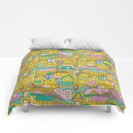 Pattern Project #2 / Happy Town Comforters
