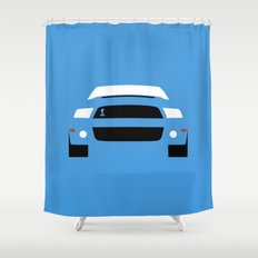 Ford Mustang Shelby GT500 ( 2013 ) Shower Curtain