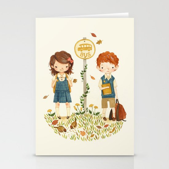 Back to School Stationery Cards
