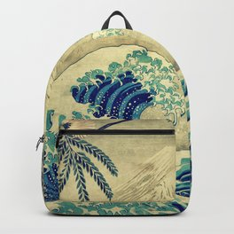 The Great Blue Embrace at Yama Backpack