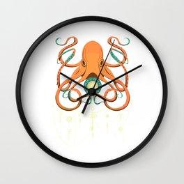 Timeless Octopus Wall Clock