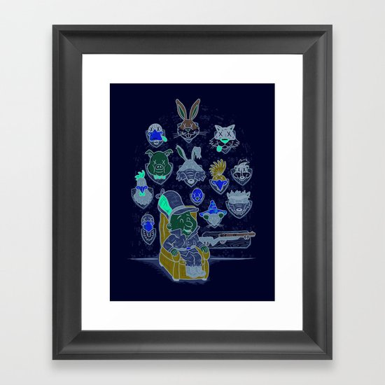 Wevenge! Framed Art Print