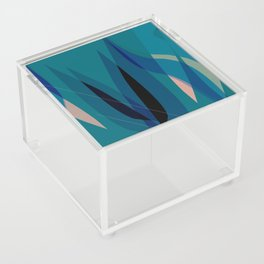 abstract tulips Acrylic Box