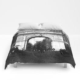 Washington Arch in Plenachrome Comforters