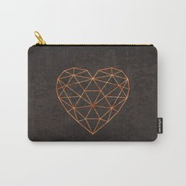 COPPER HEART Carry-All Pouch