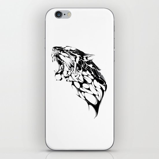 Tiger Growl iPhone & iPod Skin