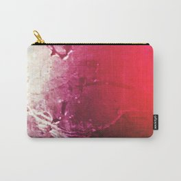 Textured Pink Carry-All Pouch