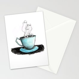 Spooky Teacup Stationery Cards
