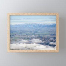 Canterbury Plains Framed Mini Art Print
