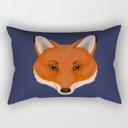 Red Fox Rectangular Pillow