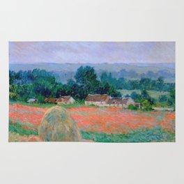 Claude Monet - Haystack At Giverny Rug