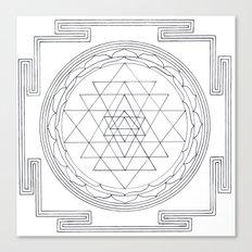 Sri chakra Canvas Print