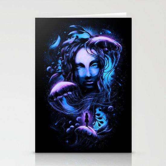 Ocean of Secrets Stationery Cards