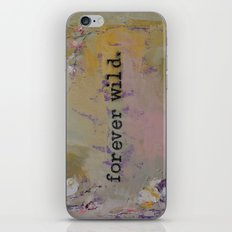 Forever Wild iPhone & iPod Skin