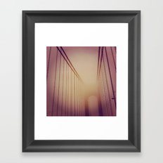 Morning Crossing Framed Art Print
