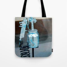 Spray painted Tote Bag