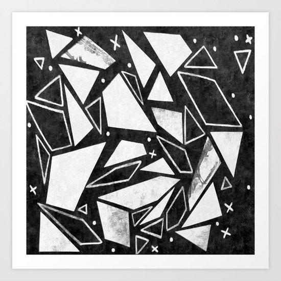 Geometrics III Art Print