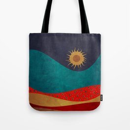 color under the sun Tote Bag