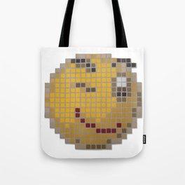 Emoticon Wink Tote Bag