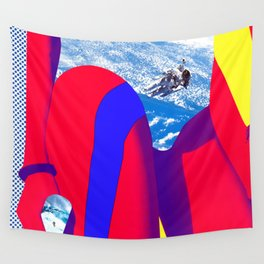 Space Woman Wall Tapestry