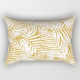 Mango Bright Tropical Island Rectangular Pillow