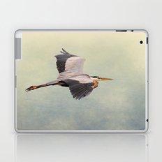 Blue Heron in Flight Laptop & iPad Skin