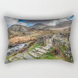 Gate to Snowdonia Rectangular Pillow