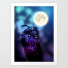 Nightshift Art Print