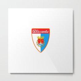 Alicante Spain Metal Print