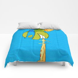 Leonardo Comforters
