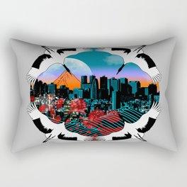 Flight To Shinjuku Rectangular Pillow