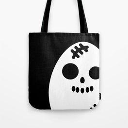 Creepy Egg Skull - Halloween Tote Bag