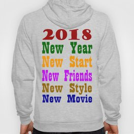 New year 2018 t-shirt 100 + sell Hoody
