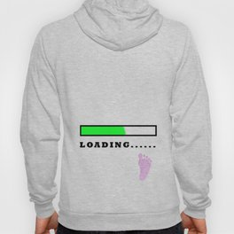 Baby Loading Girl Hoody