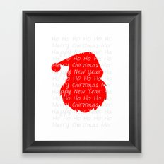 St. Nick  Framed Art Print