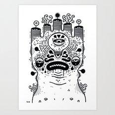 le sad boii Art Print