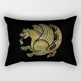 Simurg -Senvurv -Senmurgh Rectangular Pillow