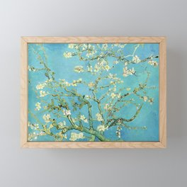 Vincent Van Gogh Almond Blossoms Framed Mini Art Print