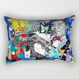 The Sound of New Orleans Rectangular Pillow