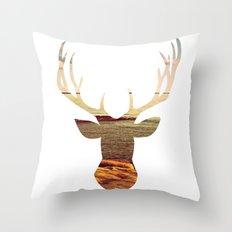 deer lake Throw Pillow