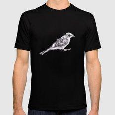 Sparrow Mens Fitted Tee MEDIUM Black