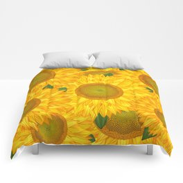 Sunflowers #2 Comforters